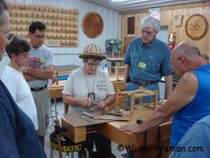 Rush weaving class MASW 8-2011