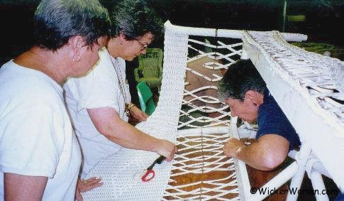 Peters Wicker Repair JCC Folk School 2001