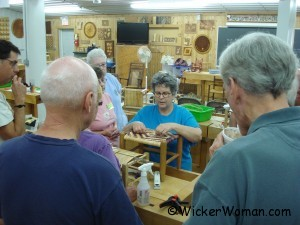 Peters chair caning class