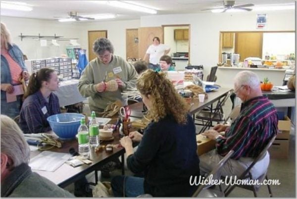 Peters teaching onion basket class