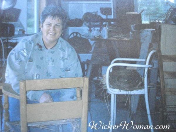 Peters weaving bulrush Norwegian chair