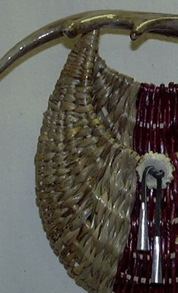One of three antler baskets by Cathryn Peters entered in online competion, Art in the Round Contest 2008
