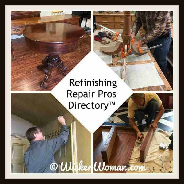 Find Refinishing/Restoration Pros on the National Furniture Repair Directory™