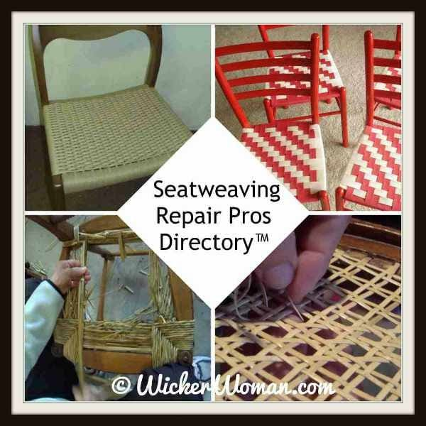 Find Seatweaving/Chair Caning Pros on the National Furniture Repair Directory™