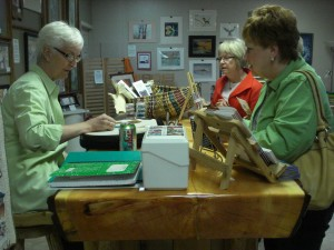 Pam Roederer beading Spring Art Expo
