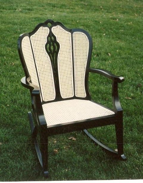 Chair Caning Expert on PA TV--Friday Feature