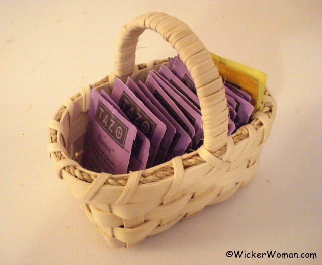 Tiny Tea Bag Basket Class
