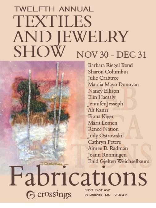 Fabrications Textiles - Jewelry Exhibit