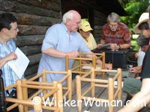 Tom Holtkamp chair caning TSWG 2009