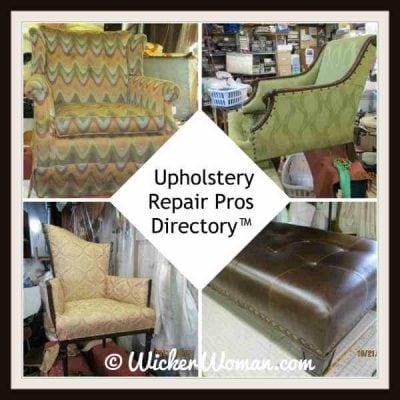 Upholstery Repair Pros--National Furniture Repair Directory™