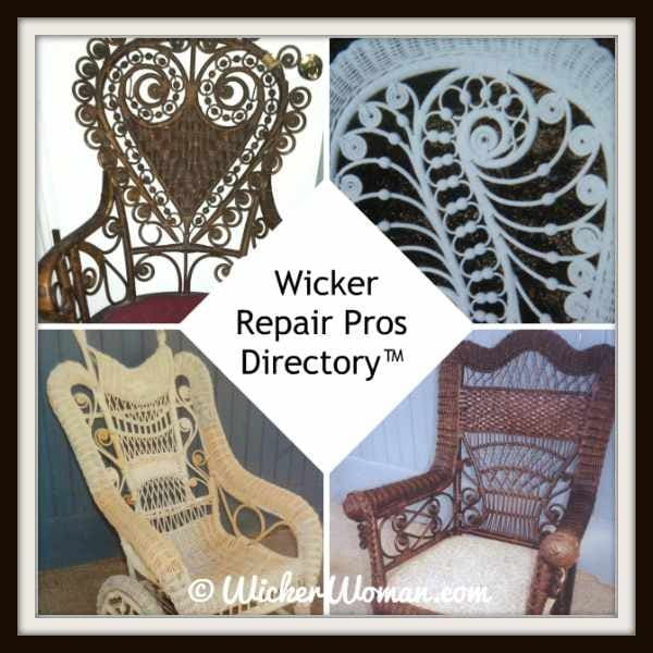 National Furniture Repair Directory™--find your wicker repair pros!
