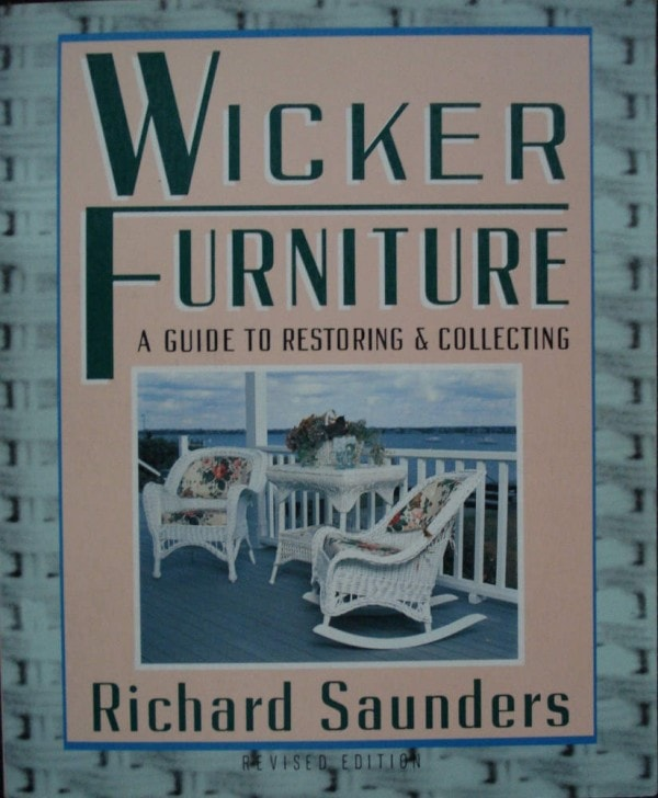 Wicker Furniture Guide Book-Saunders