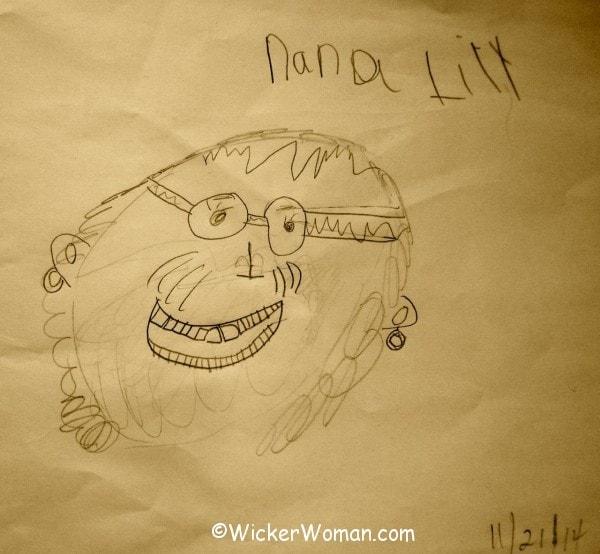 WickerWoman Nana Cathy--Lily 2014