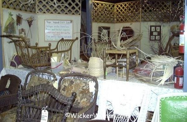 Wicker Woman wicker repair shop