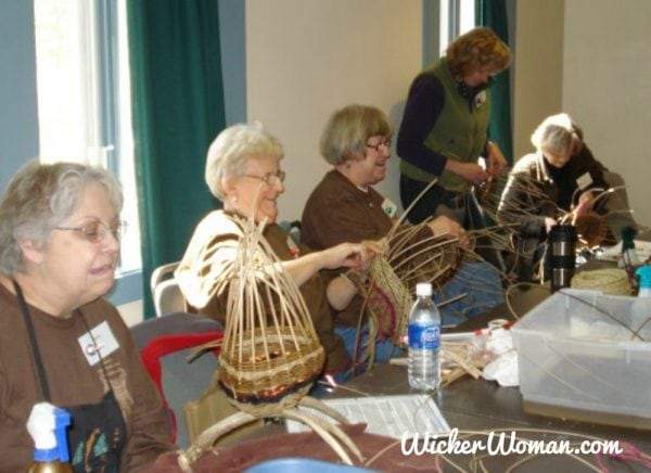 Annual Weavin' Up North Basket Workshop, Bemidji, MN