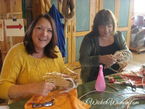 sisters in Peters antler basket class