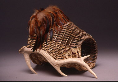 Antler Basket Cornucopia