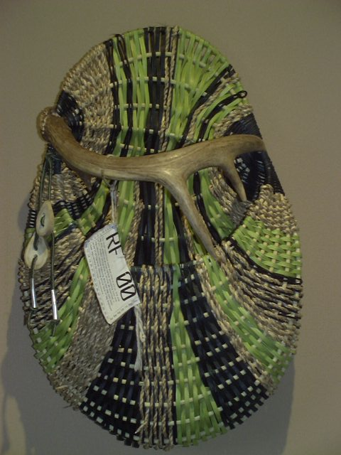 Antler Basket in Duluth Art Institute Member's Show