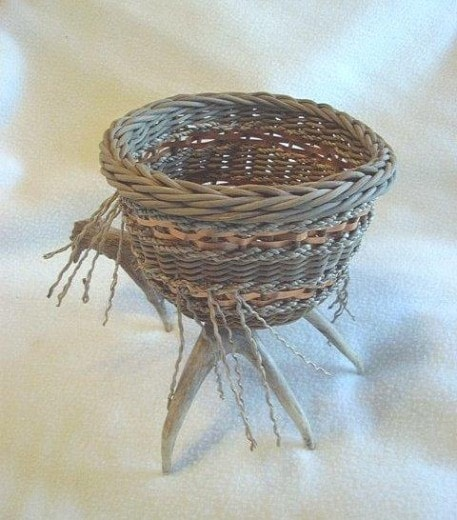 New Antler Basket Pattern by Cathryn Peters