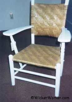 ash splint chair