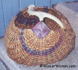 Basically Brown Antler Melon Basket