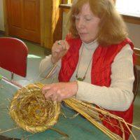 Peters Bee Skep weaving class