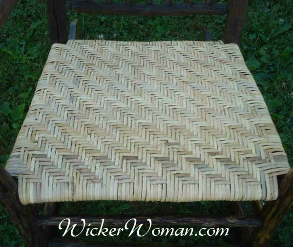Beautiful Binder Cane Rustic Chair Seat