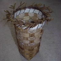 How-to Make a Birch Bark Basket