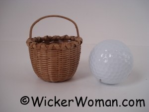 black ash mini basket peters