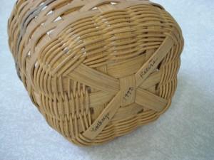 utensil basket bottom