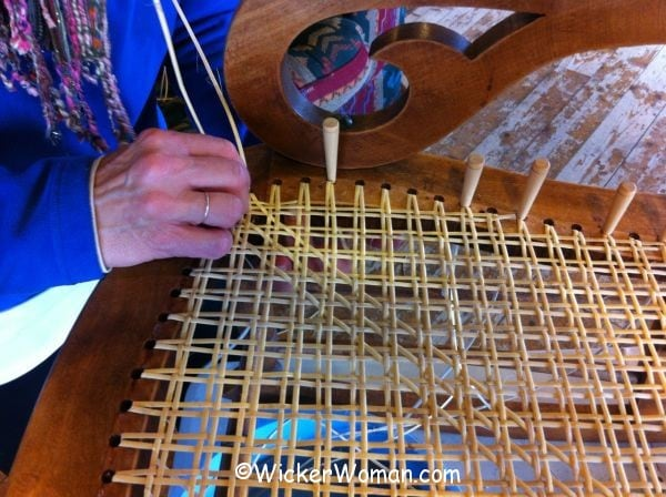 Hand Caning Class First Diagonal Step