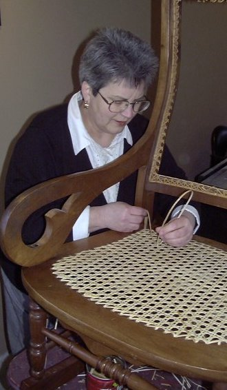 My New Chair Caning Article on eHow.com