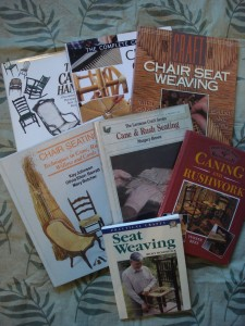 chair caning books