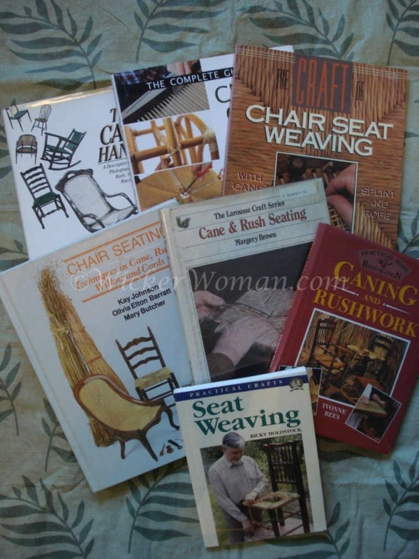 Seat Weaving and Chair Caning Books