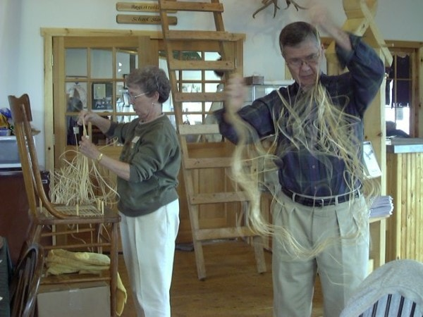 North House Chair Caning Class