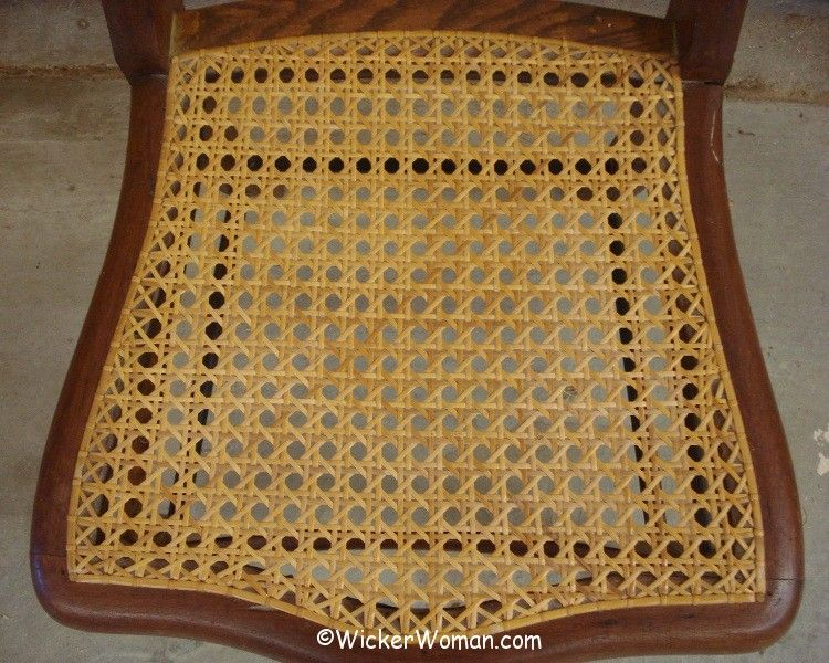 How to care for cane seats