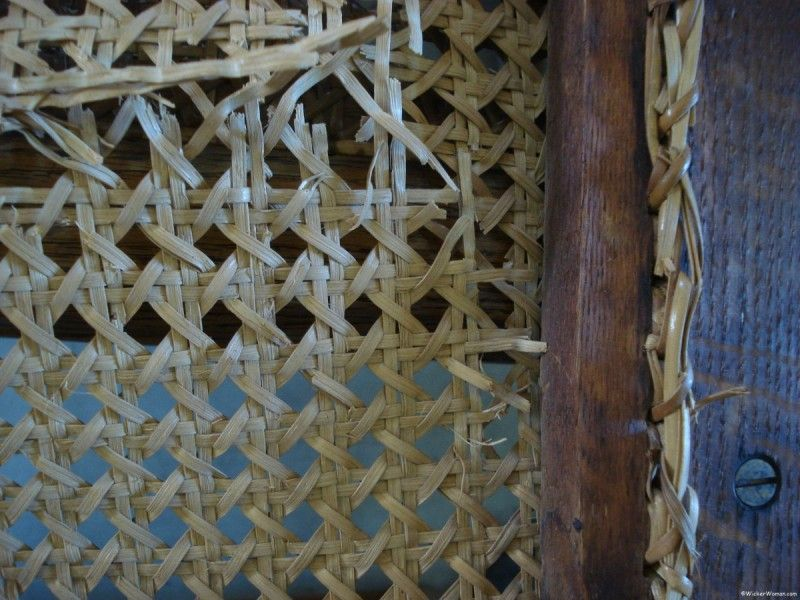 chair caning knot mistakes