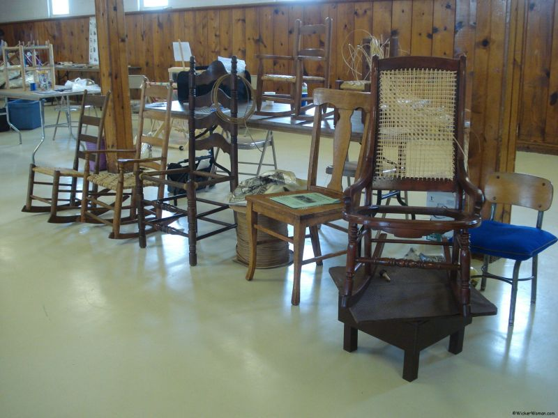 What? Three Types of Chair Caning?