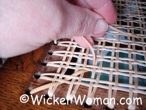 chair caning repair