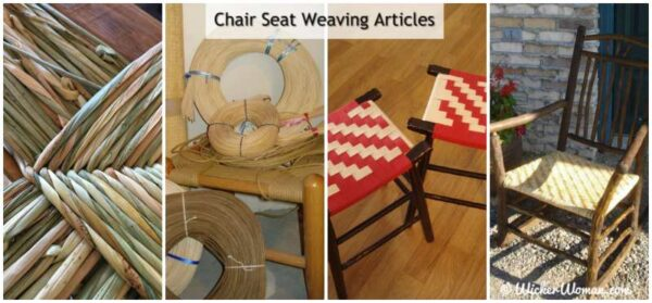 chair seat weaving articles