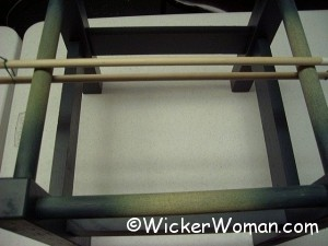 wooden dowel caning tension rods