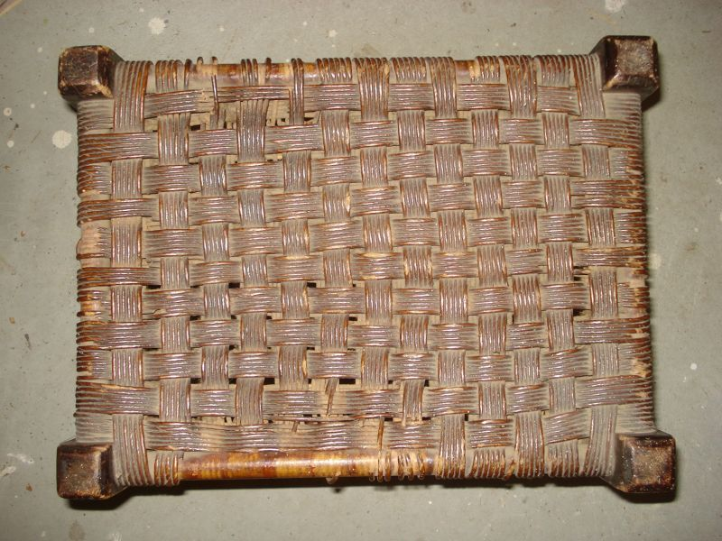 New use for old wicker material–Wednesday Wicker Wisdom
