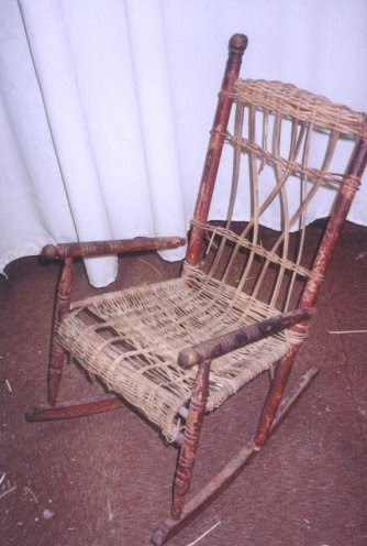 Wednesday Wicker Wisdom–Child's Rocker Repair