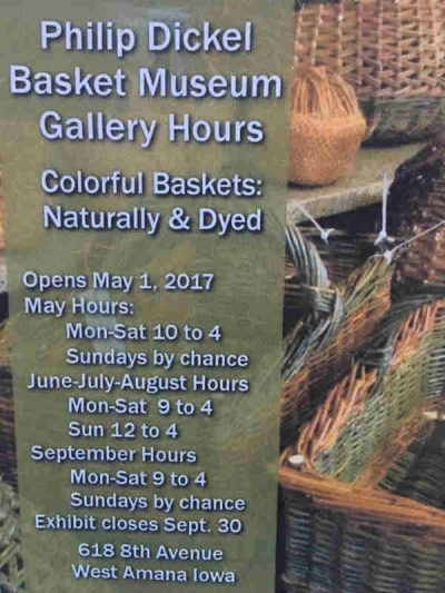 Colorful Baskets: Naturally & Dyed 2017
