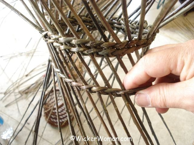Basket Weaving Process : Hjornholm willow basket weaving class the wicker woman