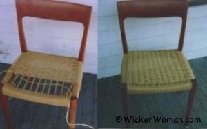 Danish cord chair seats