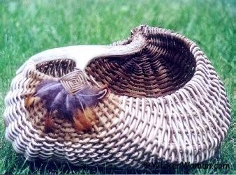Double Take Antler Basket Pattern