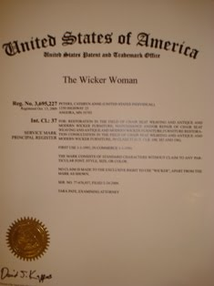 The Wicker Woman ®–Registered Trademark Name!