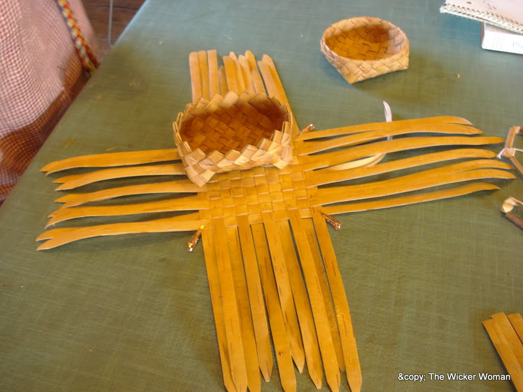 Russian Birch Bark Basketry Class