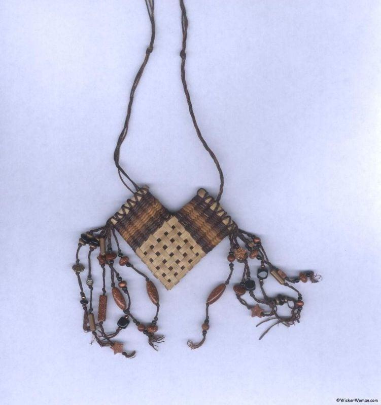 Black Ash Necklace Basket Class